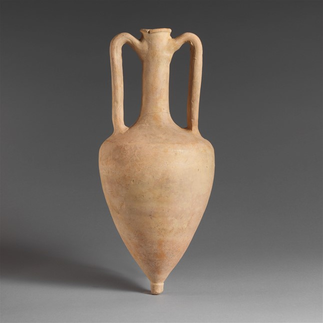 Terracotta amphora,3rd century B.C. Greek - The Metropolitan Museum of Art